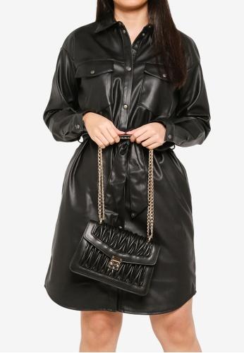 Vero Moda black Patti Crossbody Bag 70BE3AC18BF26AGS_1