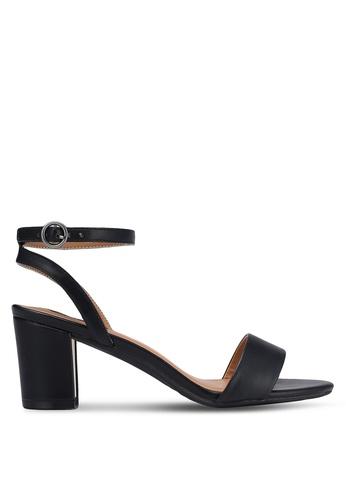 ZALORA black Gold Detail Heels 52F6DSH30841CCGS_1