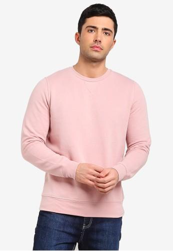 Brave Soul pink Crew Neck Sweatshirt 26468AA3654436GS_1