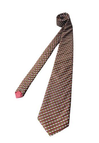 MOZZO red Giraldo Necktie F3FFCACA990C13GS_1