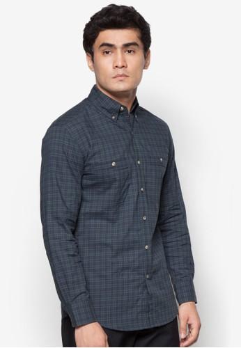 格紋長袖襯衫, 服飾esprit 工作, 格紋襯衫