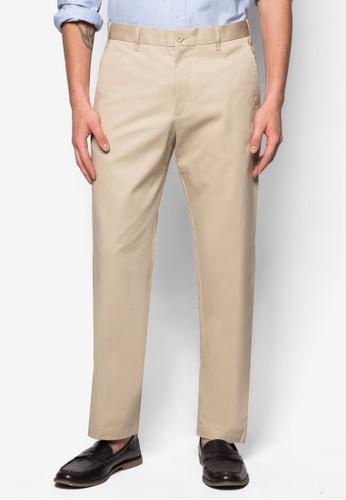 直筒棉質西裝長esprit hk褲, 服飾, 直筒褲