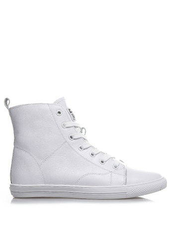 Twenty Eight Shoes High Top Smart Causal Leather Sneakers RX12832 FAF6CSHF4A1BBAGS_1