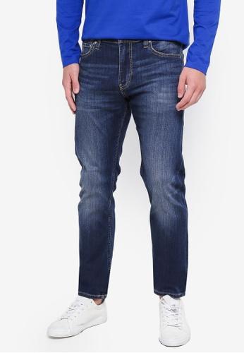 Calvin Klein 藍色 026 Slim Jeans - Calvin Klein Jeans 08935AA5C0FFBCGS_1