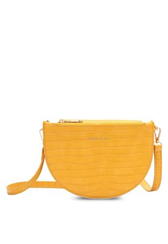 Swiss Polo yellow Swiss Polo Ladies Sling Bag 5E7BBACC1D2E1DGS_1
