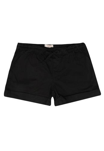 FOX Kids & Baby black Plain Shorts 6ED9CKAA6FF919GS_1