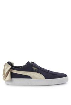 511e6576e9ef Puma navy Suede Bow Varsity Wn S Shoes F6B78SH53FF795GS 1