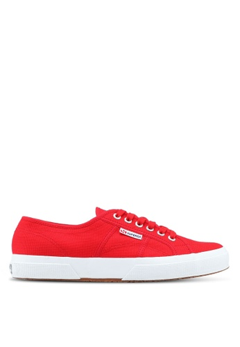 Superga white and red Cotu Classic Sneakers 03EDESH80E0F90GS_1
