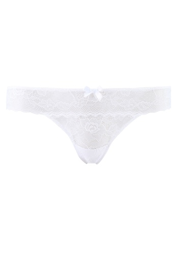 Undiz white Basiciz Tanga Panties DB3C8USDC290B2GS_1