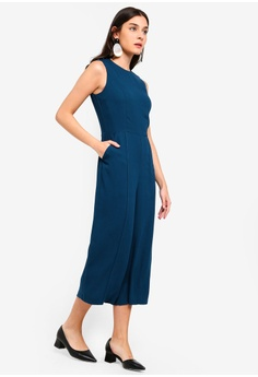 89cdafc3adb 16% OFF ZALORA Metal Poppers Details Jumpsuit S  44.90 NOW S  37.90 Sizes  XS S M L XL