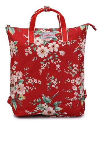 Cath Kidston red Spitalfields Zip-Top Backpack 19BA3AC9B2685CGS_1