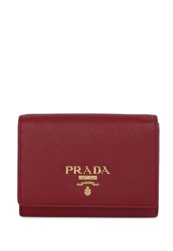 Prada red Prada Card holder DC925ACE3404EAGS_1