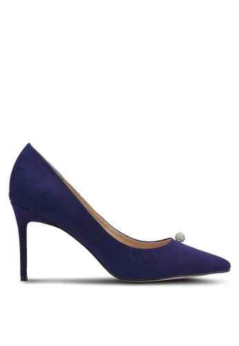 ZALORA navy Crystal Ball Court Shoes A44E4ZZ324753AGS_1