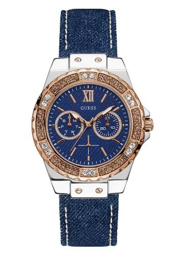 Guess Watch blue Guess Jam Tangan Wanita Analog W0775L10 7AA6CACA63C9F3GS_1