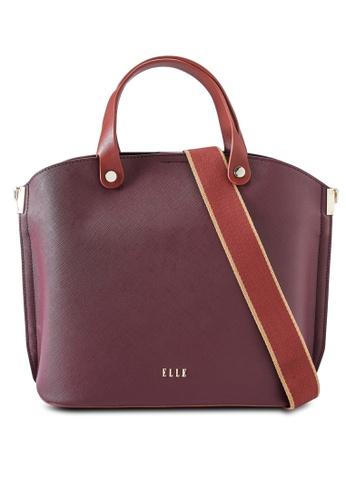 ELLE red Iris Carry Bag 95148AC0D01589GS_1