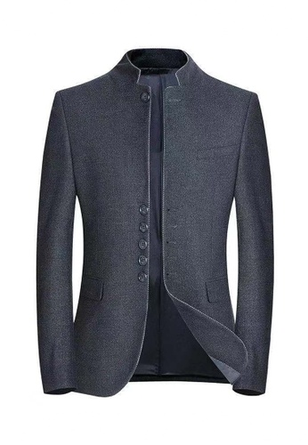 HAPPY FRIDAYS Slim Casual Suit Jacket A522 9F020AA6776037GS_1