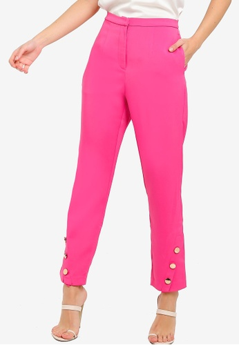 Lavish Alice pink Tux Trousers 6D444AAC01290FGS_1