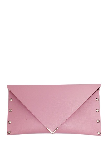 Louiebelle Collection pink Eunice Envelope Wallet LO122AC36OFZPH_1