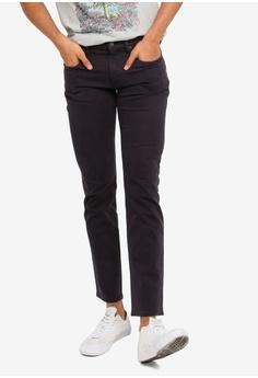 fb4287a3 GAP navy Slim Straight Twill Pants AC09BAA3291D7CGS_1
