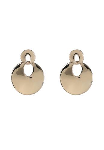 niko and ... gold Disc Drop Earrings 0EB94AC53D4476GS_1