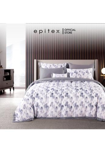 Epitex Epitex HOMME 1600TC Tencel Printed Bedsheet - Fitted Sheet Set - (w/o quilt cover) 9EC33HLA4CA2E9GS_1