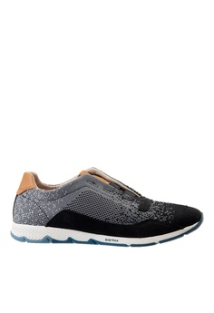 new product 730bb c0d24 Hush Puppies grey Hush Puppies Womens Cesky Knit Elastic - Grey  BE065SHA376DEBGS1