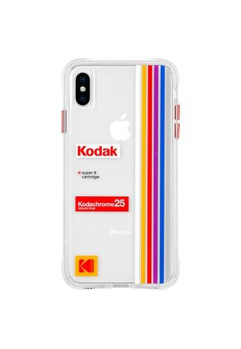 Casemate iPhone Xs Max Case - Kodak Striped Kodachrome Super 8 22AEBACD6F91BAGS_1