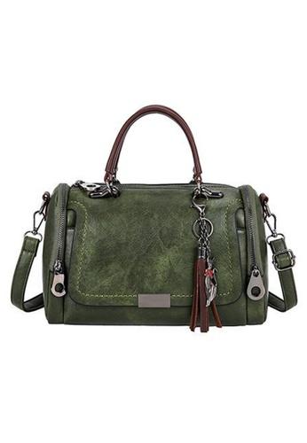 Halo green Three Way Hand Bag Shoulder Bag 81EFEAC13C85EFGS_1