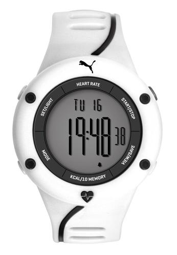 Puma Watches white PU911361004 Cardiac 01 White Grey Men Watch PU549AC0RJW3MY_1