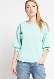 WHITEMODE green Gretchen Blouses WH193AA32DQXID_1