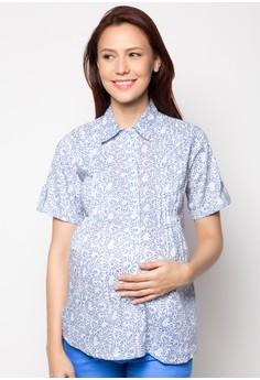 Nona Maternity Blouse