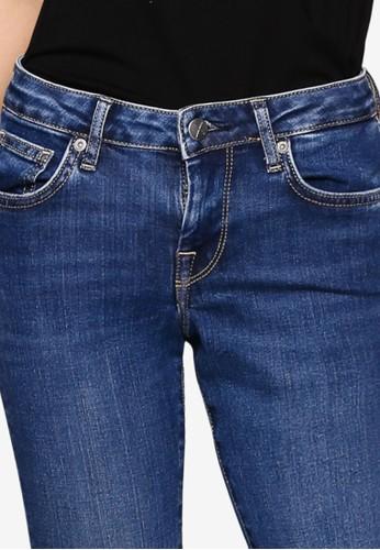 Jual Pepe Jeans Dua Lipa X Pepe Jeans Skinny Blue Jeans Original Zalora Indonesia