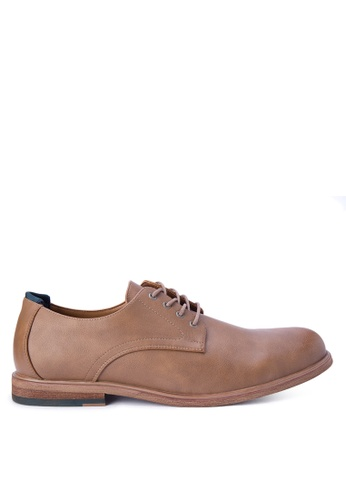Call It Spring brown Galelicia Derby Shoes CA427SH0KL6SPH_1