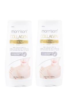 Morrison Collagen Whitening 2-in-1 Body Lotion, Set of 2