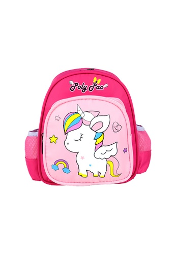 Poly-Pac pink Poly-Pac PK2047 10 inch Kindy School Bag 3F44DKCF359235GS_1