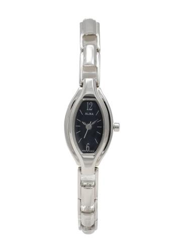 Alba silver ALBA Jam Tangan Wanita - Silver Black - Stainless Steel - AC3B03 7A278ACBDA8DA0GS_1