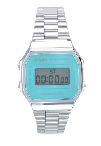 Casio silver Casio A168WEM-2 Watch 9527BACC594A36GS_1