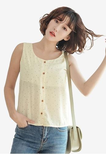 53bb84160ac Buy Tokichoi Sleeveless Button Front Top Online on ZALORA Singapore
