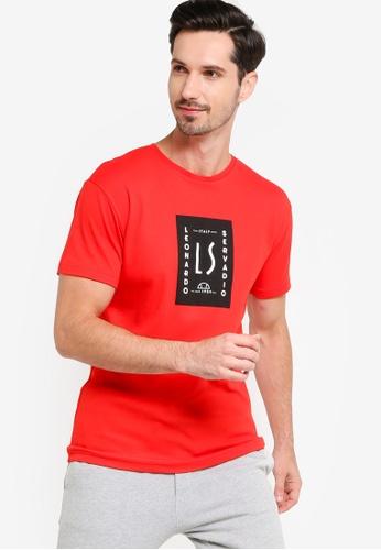 Ellesse red Canala T-Shirt B0FC9AA3576232GS_1