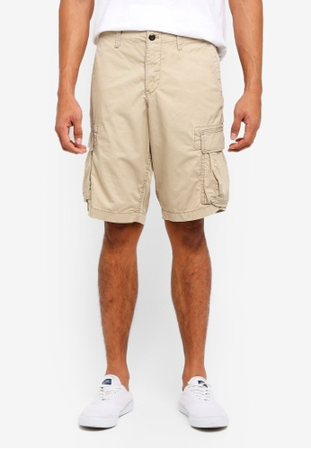 "GAP brown 12"" Cargo Shorts D2687AABEC04D8GS_1"