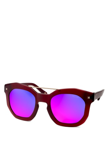 HEX EYEWEAR red Artist - Andy W. - Sunglasses - Italy Design HE671AC2V1KKHK_1