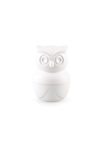 Qualy Qualy Morning Owl Egg Cup cum Shaker Set (White) 30AB9HL99ADF12GS_1