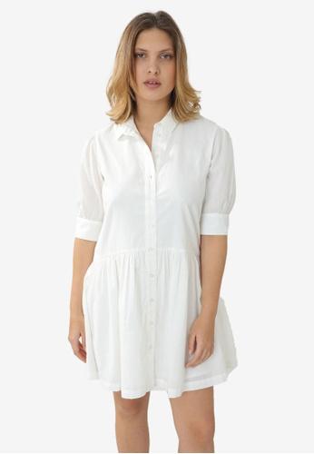 PIMKIE white Shirt Dress 2440AAAA5B0F12GS_1