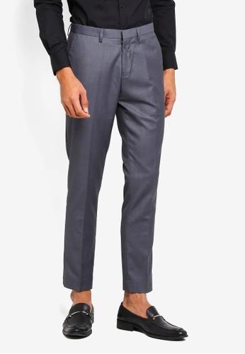 Electro Denim Lab grey Slim Pants 342F5AA2E93C87GS_1
