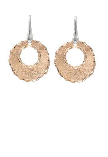 Glamorousky silver Italian Rose 925 Sterling Silver Earrings 5E085ACEC3435CGS_1
