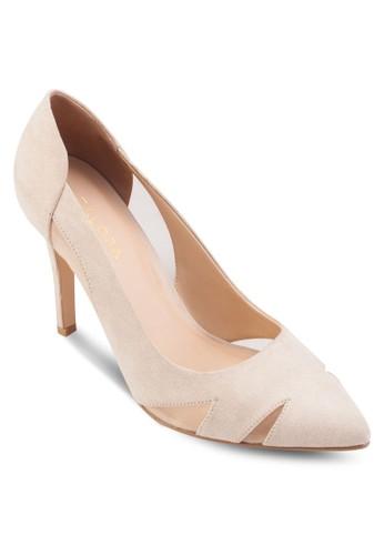 鏤空薄紗尖頭高跟鞋zalora 男鞋 評價, 女鞋, 鞋