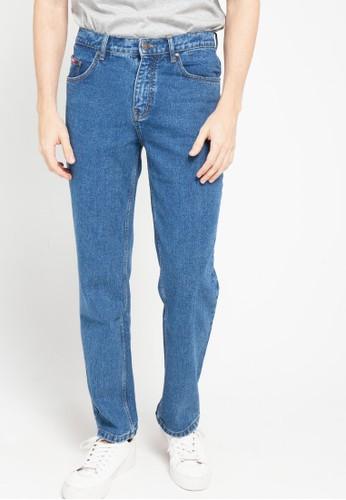 Cardinal blue Regular Fit Jeans 7F238AAA350E65GS_1