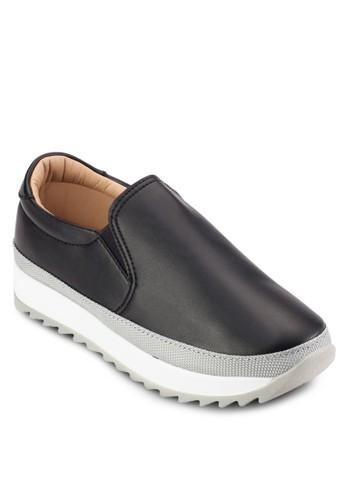 撞色厚底運動風懶人鞋, 女esprit 見工鞋, 鞋