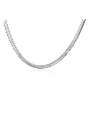Tiaria white Tiaria Gold Plated Necklace Pendant Fashion Party SPCN193-18--K10 F333FAC756170FGS_1