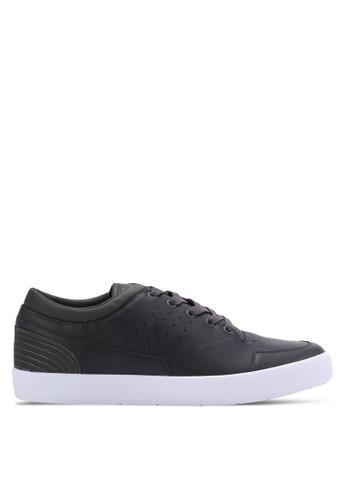 ZALORA grey Essential Faux Leather Sneakers C4C37SH76860C3GS_1